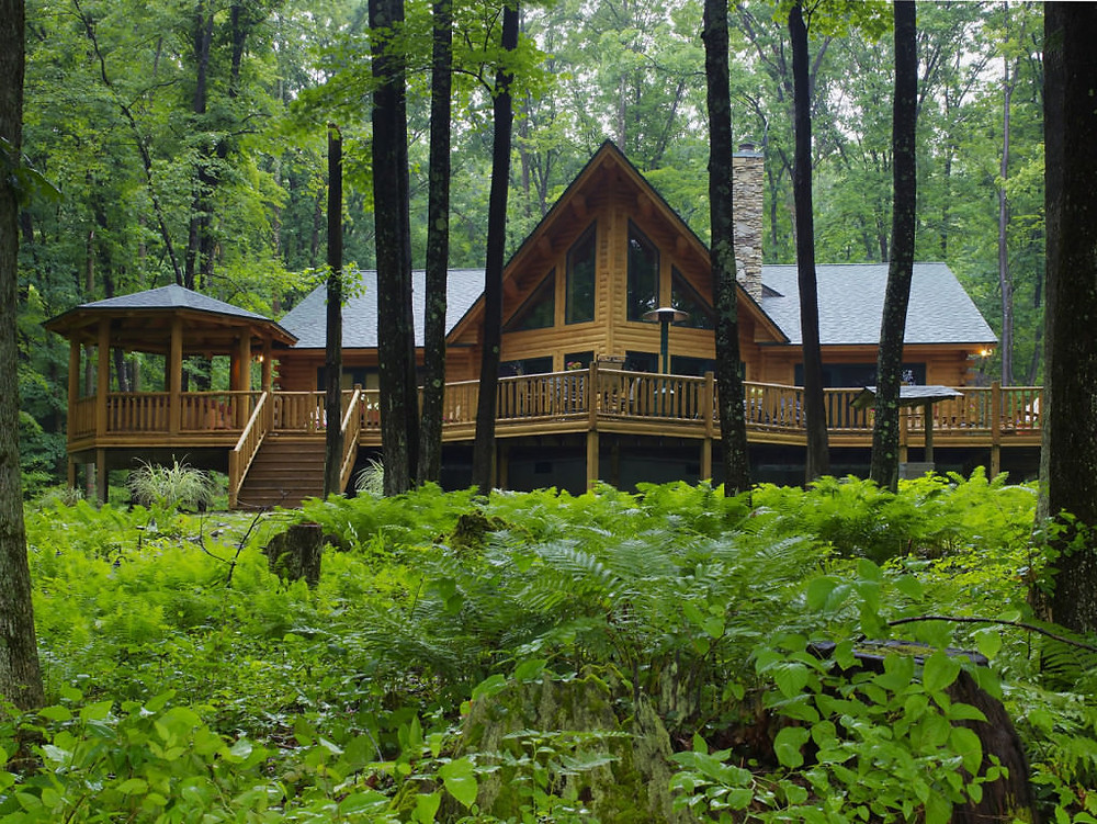 My idea of a cabin in the woods.