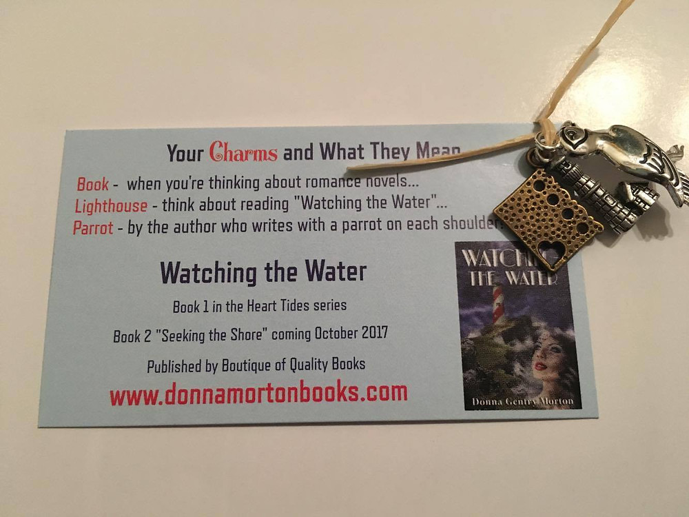 I love charms and find that most people do, too. This is my favorite swag bag item.
