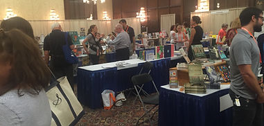 SIBA 2016 Discovery Show - Author Donna Gentry Morton was a featured new author.