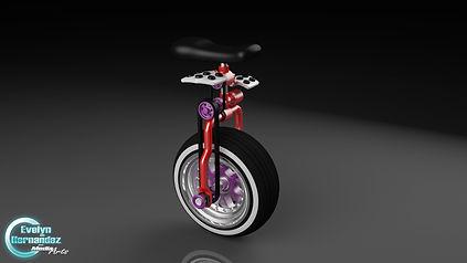 Unicycle_3D_Model_Evelyn_Hernandez_Art_2