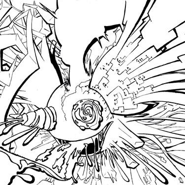 Sketchbook Evelyn Hernandez - Deadmau5 T