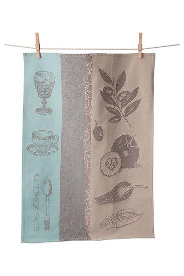 MEDITERRANEAN JACQUARD TOWEL