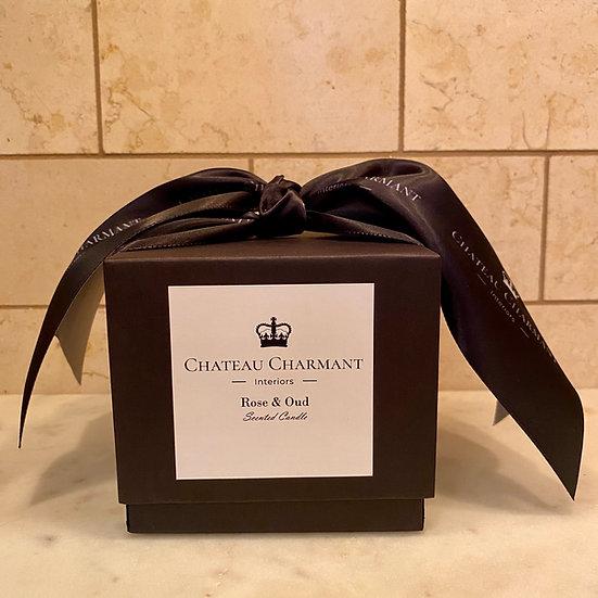 CHATEAU CHARMANT ROSE & OUD CANDLE