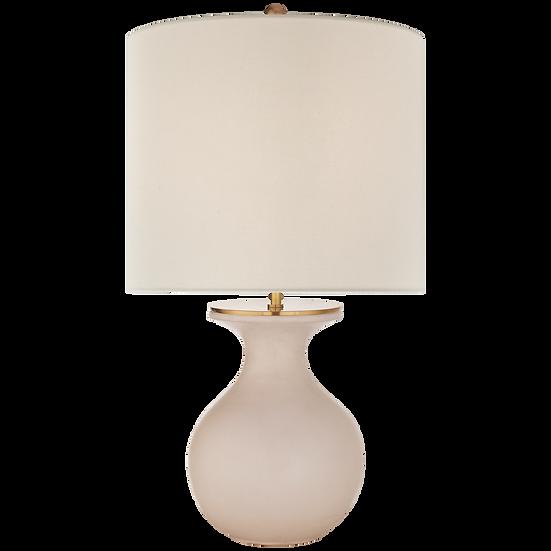 ALBIE DESK LAMP - BLUSH