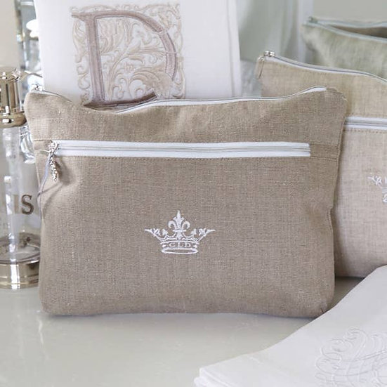 CROWN LINEN ESSENTIALS BAG