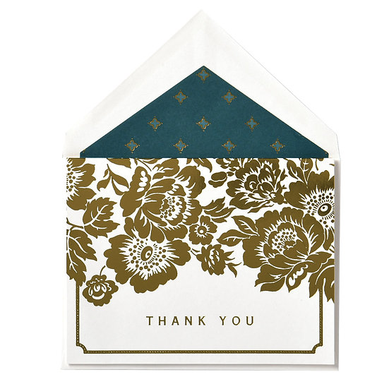 ANNA GRIFFIN PEACOCK COLLECTION THANK YOU NOTES