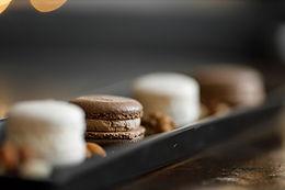 French chocolate macaron
