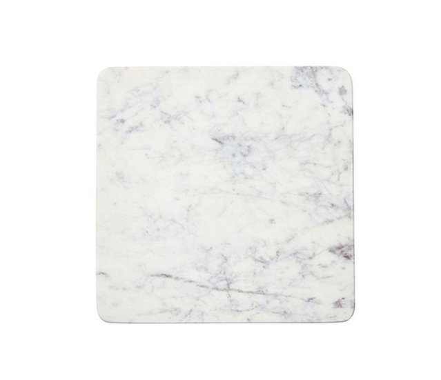 WHITE MARBLE CHARCUTERIE BOARD