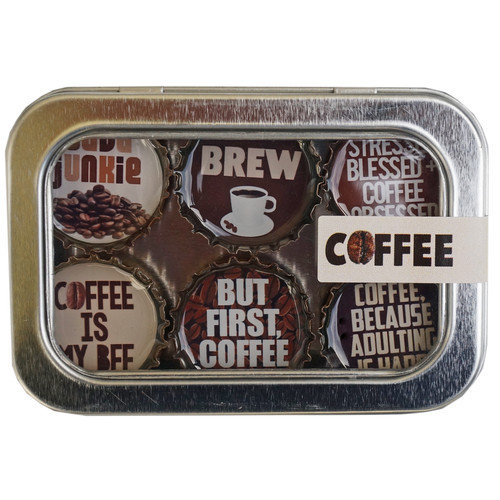 THEMED MAGNETS - COFFEE