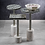 Thumbnail: SULTANA COCKTAIL TABLE ON MARBLE BASE - ROUND