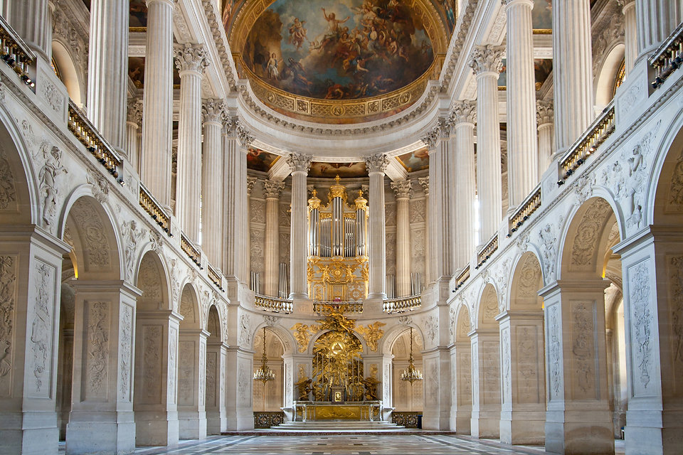 Great Hall Ballroom in Versaille Palace