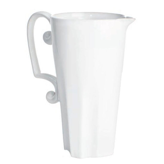 CHARLOT PITCHER WITH SCROLL HANDLE