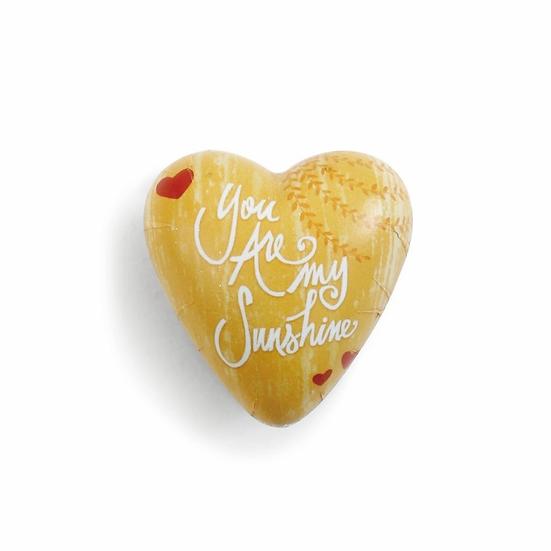 YOU ARE MY SUNSHINE ART HEART TOKEN