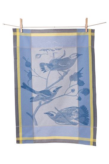 EUROPEAN BIRDS JACQUARD TOWEL