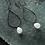 Thumbnail: MOONSTONE DROP EARRINGS