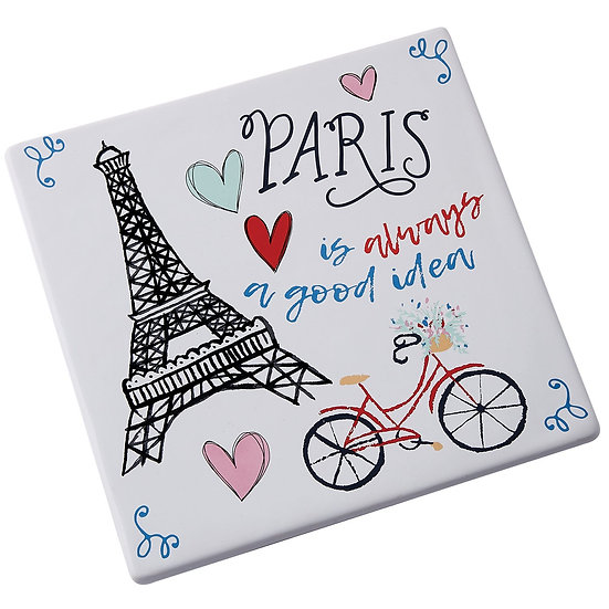 PARIS IS ALWAYS A GOOD IDEA TRIVET