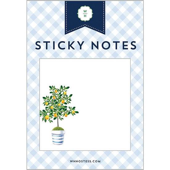 LEMON TREE STICKY NOTES