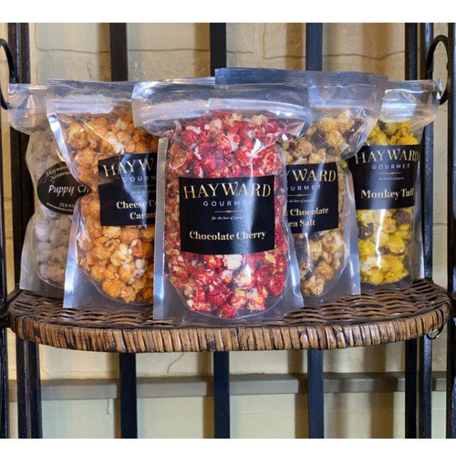 GOURMET FLAVORED POPCORN - CHOCOLATE COVERED CHERRY