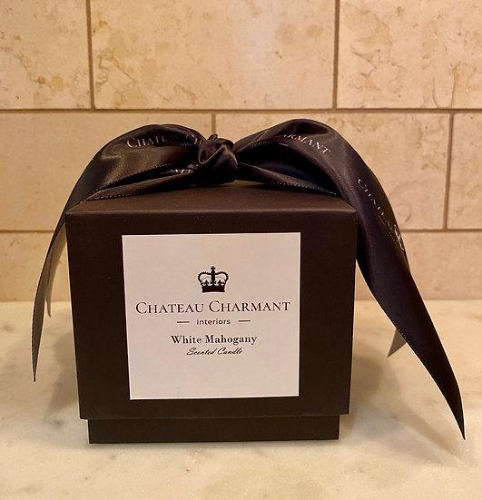 CHATEAU CHARMANT WHITE MAHOGANY CANDLE