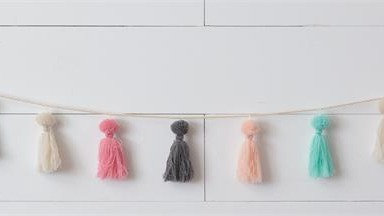 CHEERFUL TASSEL GARLAND, 62""