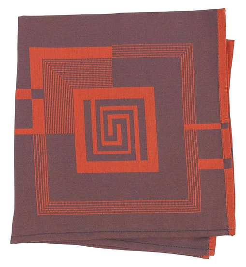FRANK LLOYD WRIGHT JACQUARD NAPKINS, SET OF 4