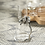 Thumbnail: BOGAR ORCHID PEWTER AND GLASS PITCHER