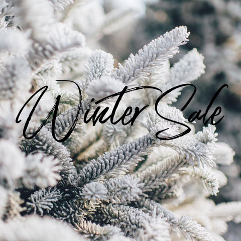 Brrrr!  It's time for a winter sale!  Select items 25% off!