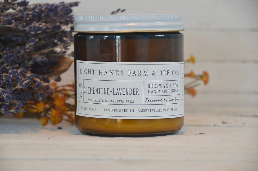 CLEMENTINE & LAVENDER CANDLE