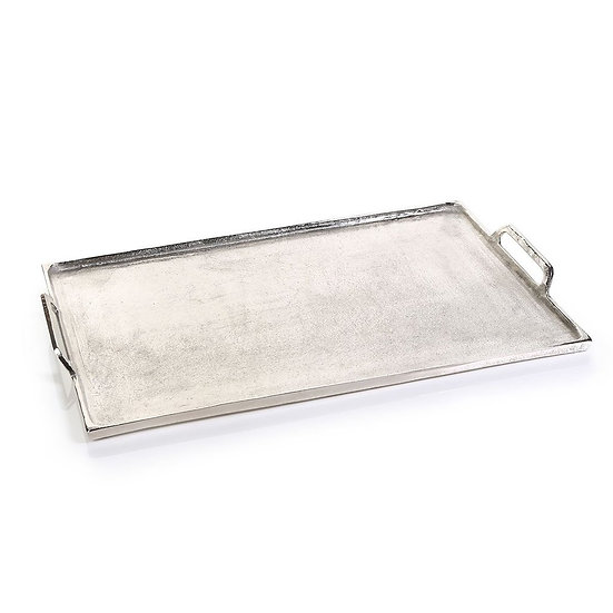 BARBUDA ALUMINUM TRAY WITH HANDLES