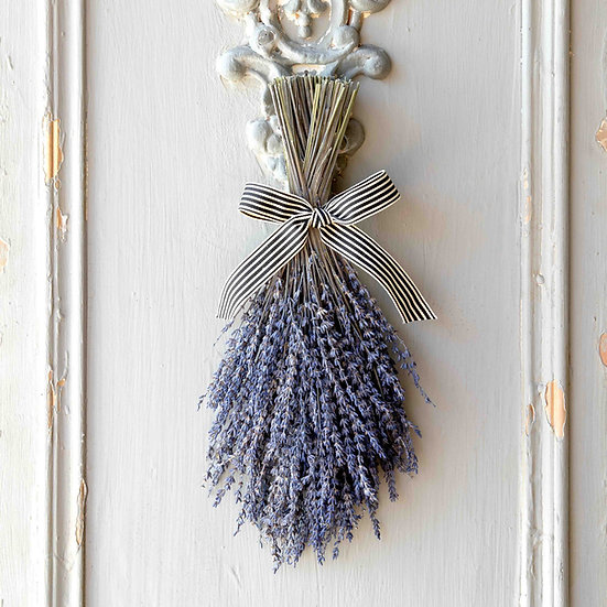 DRIED LAVENDER BUNDLE WITH RIBBON
