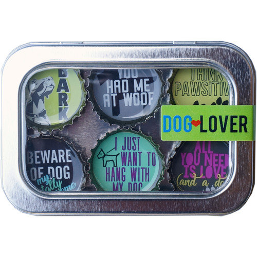 THEMED MAGNETS - DOG LOVER