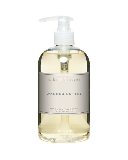 WASHED COTTON LIQUID HAND SOAP