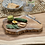 Thumbnail: BALI TEAK ROOT SERVING BOARD WITH KNIFE