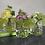 Thumbnail: UNIQUE GLASS VASES, SET OF 3