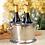 Thumbnail: RAW ALUMINUM THREE-BOTTLE WINE HOLDER