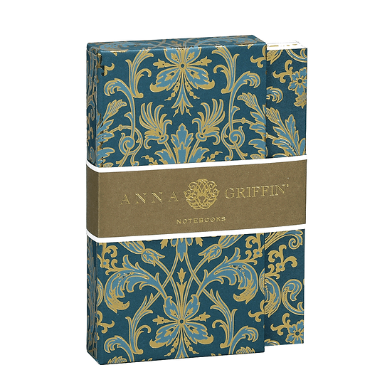 ANNA GRIFFIN PEACOCK COLLECTION NOTEBOOK SET