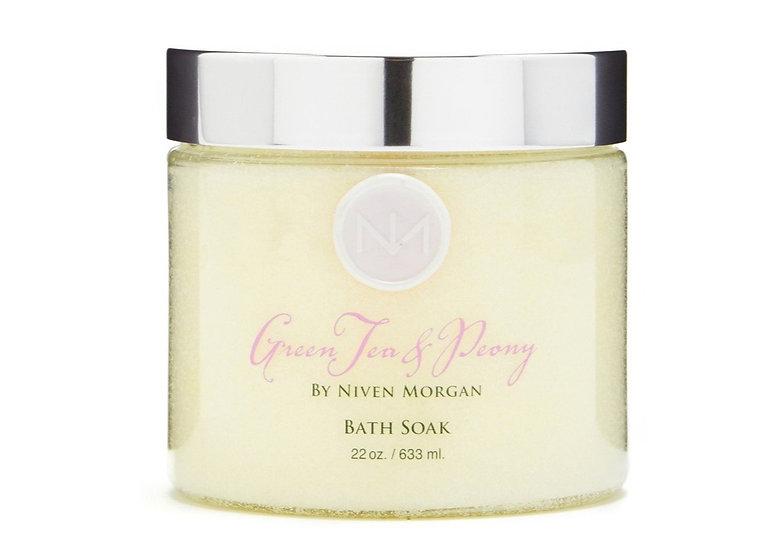 GREEN TEA & PEONY BATH SOAK