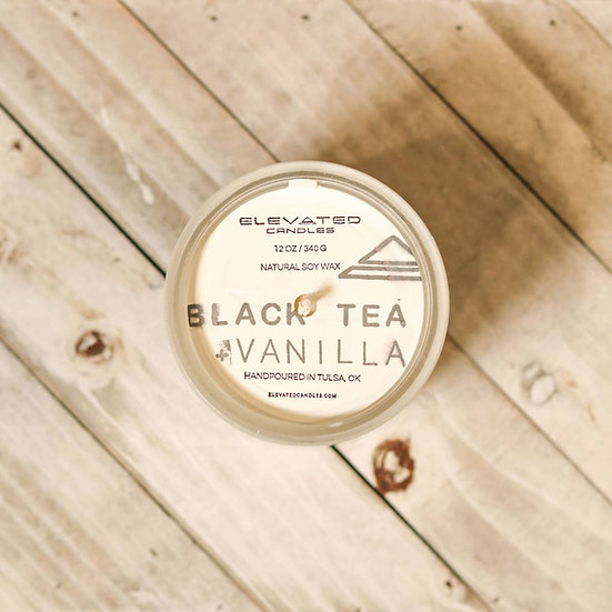 BLACK TEA & VANILLA CANDLE