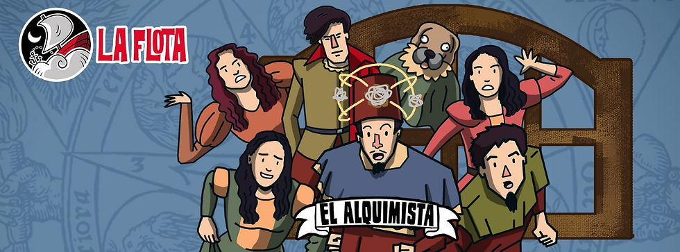 El Alquimista (animada)