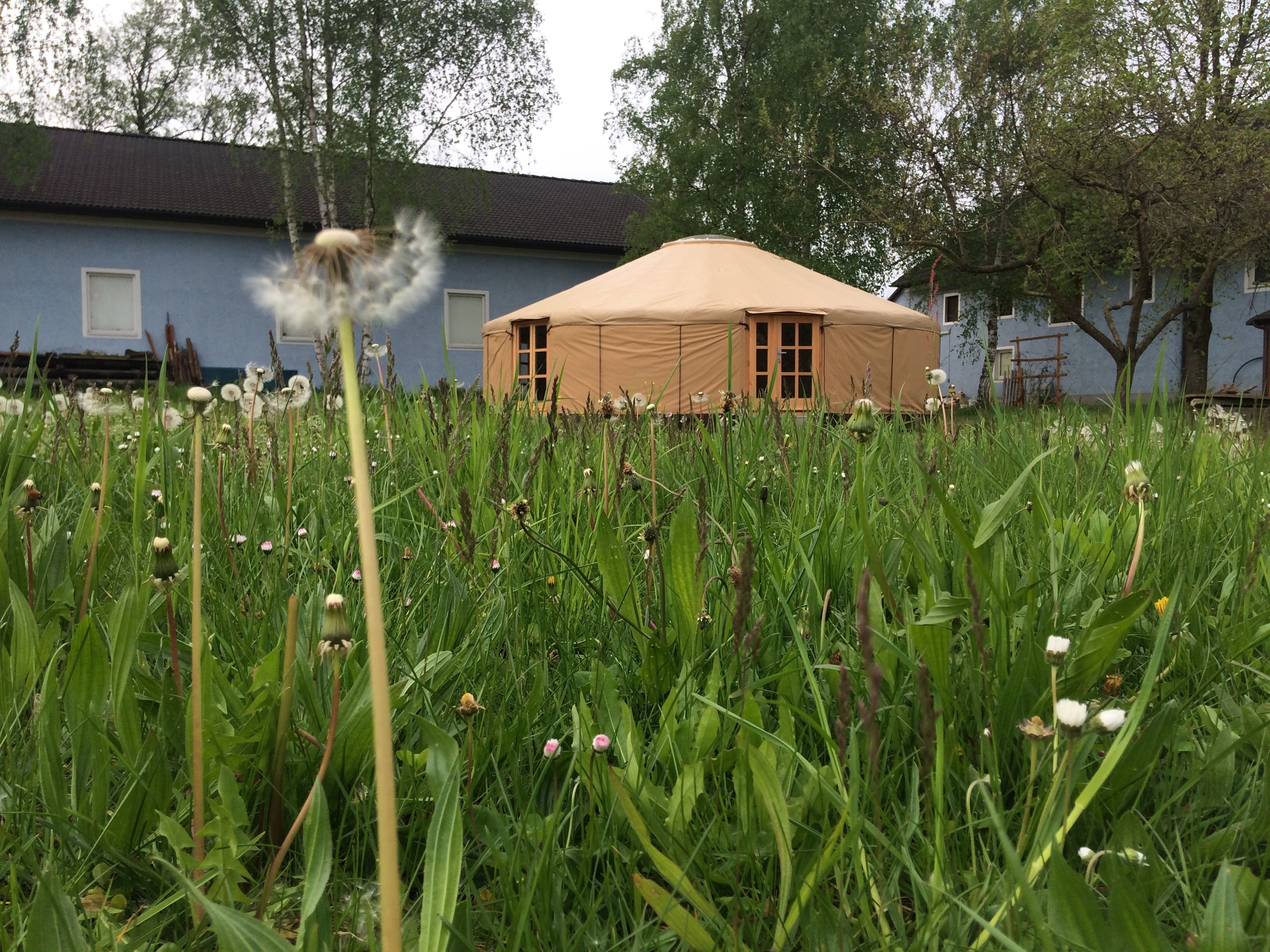 Yurt for courses, 160cm walls