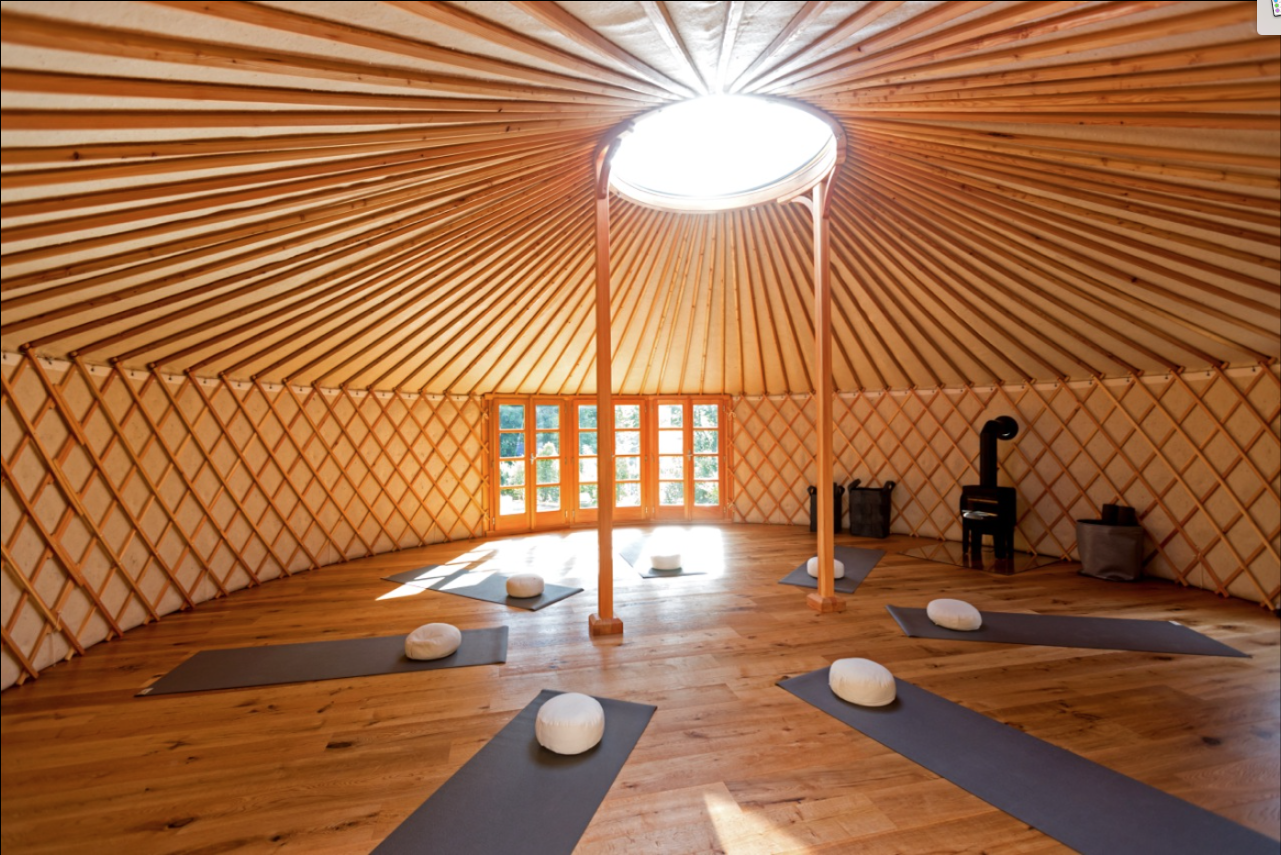 Yoga Yurt, Freiburg - Germany