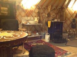 6,5 meter yurt
