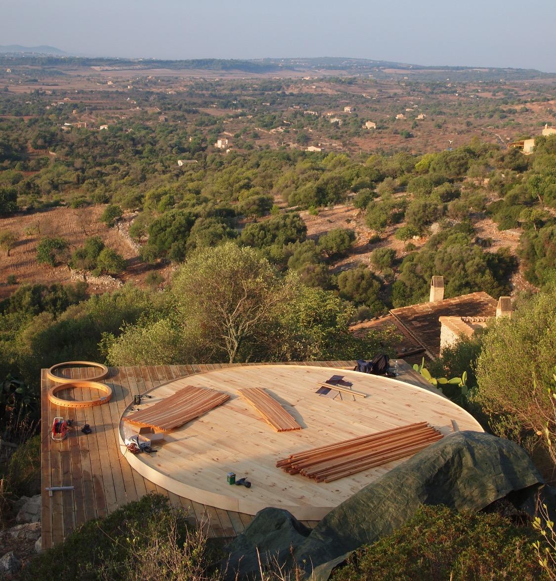 600cm platform - Mallorca