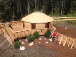Seminary yurt