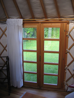 Francouzské okno 114cm, výška 180cm