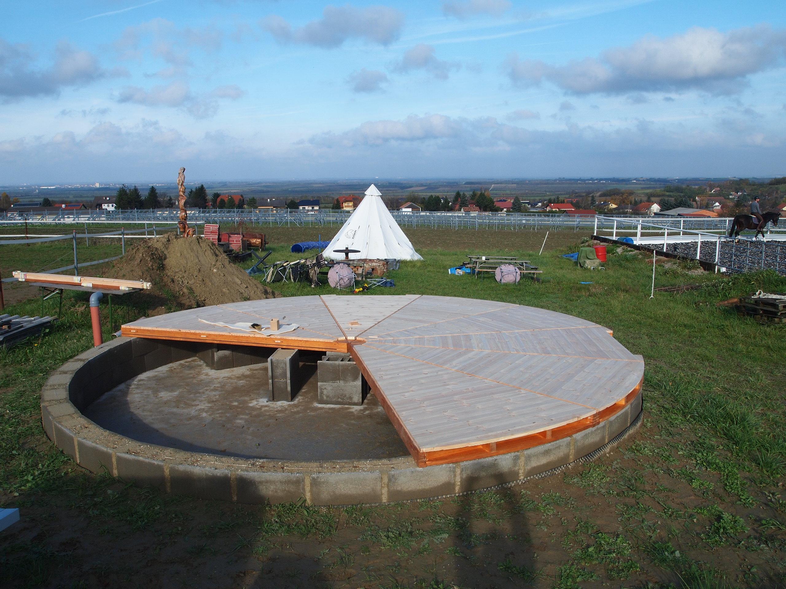 660cm platform in Austria