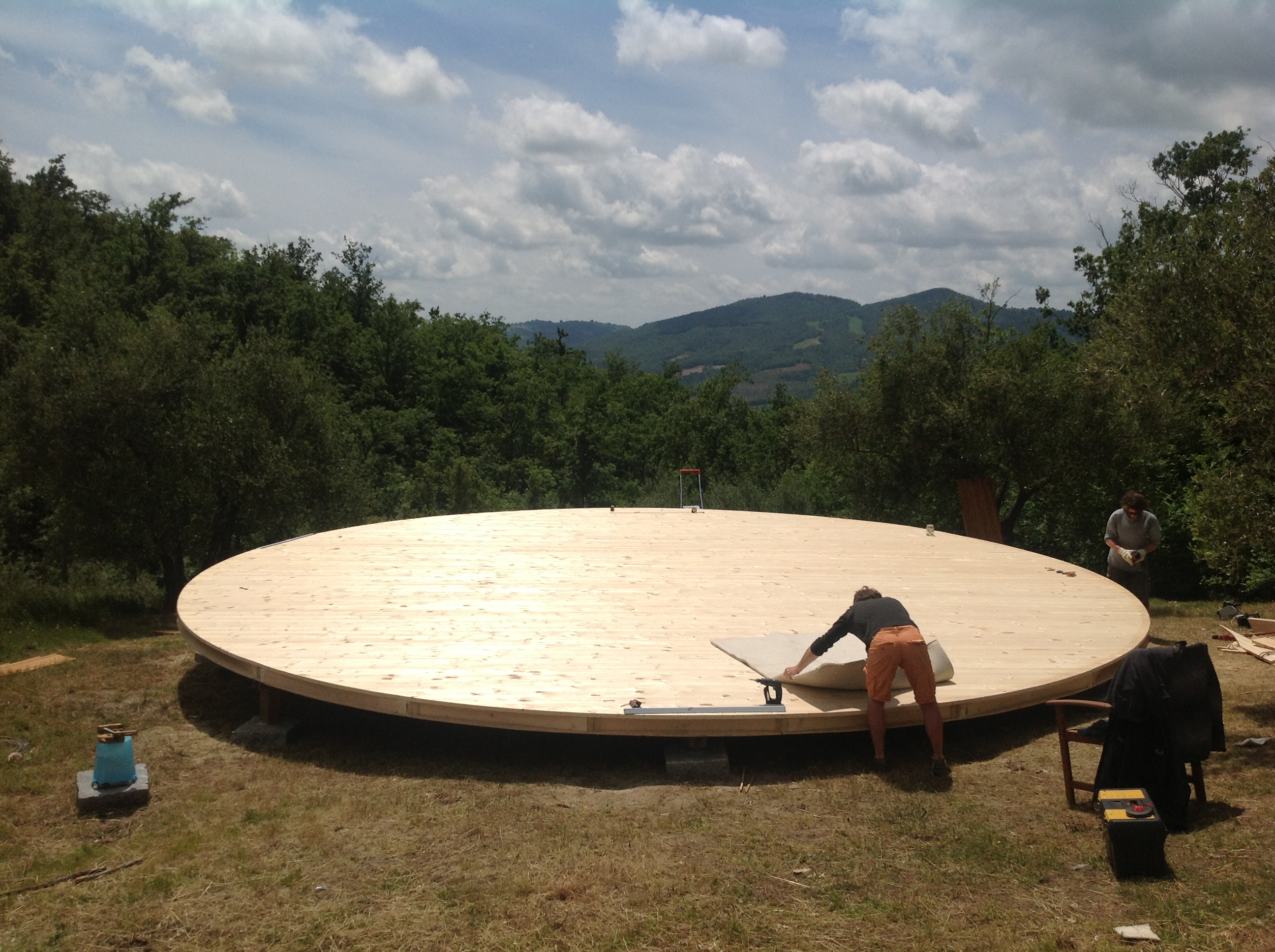 920cm platform in Italy