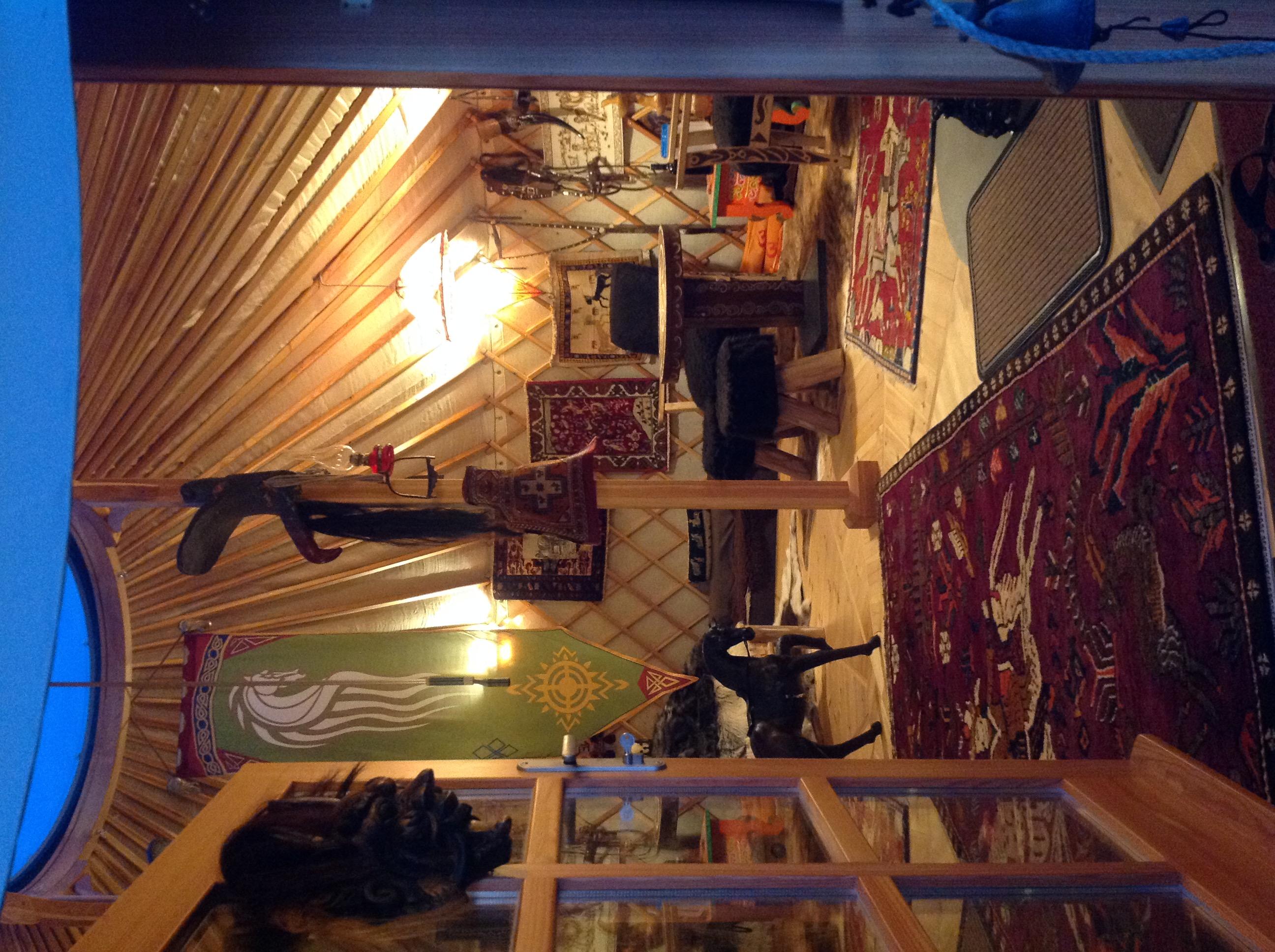6,5 meters yurt