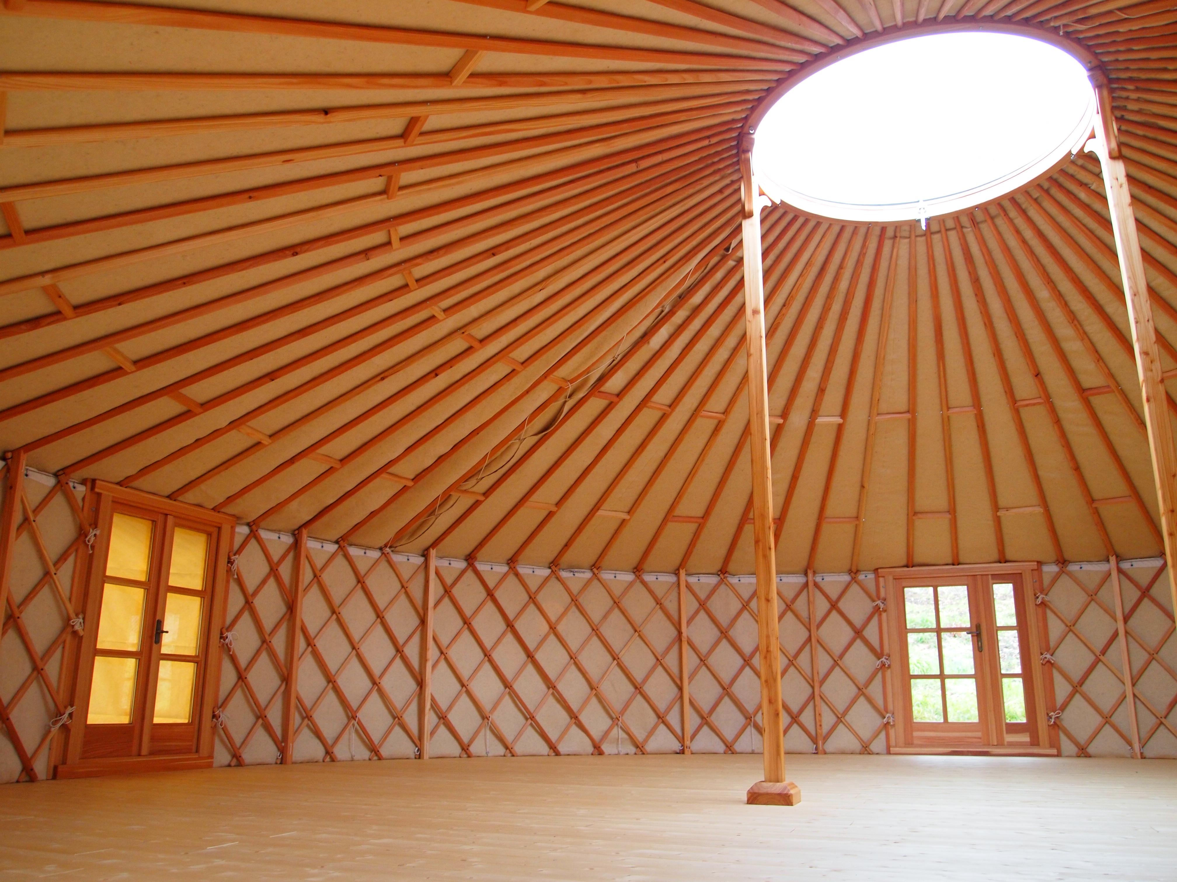 9 meters yurt