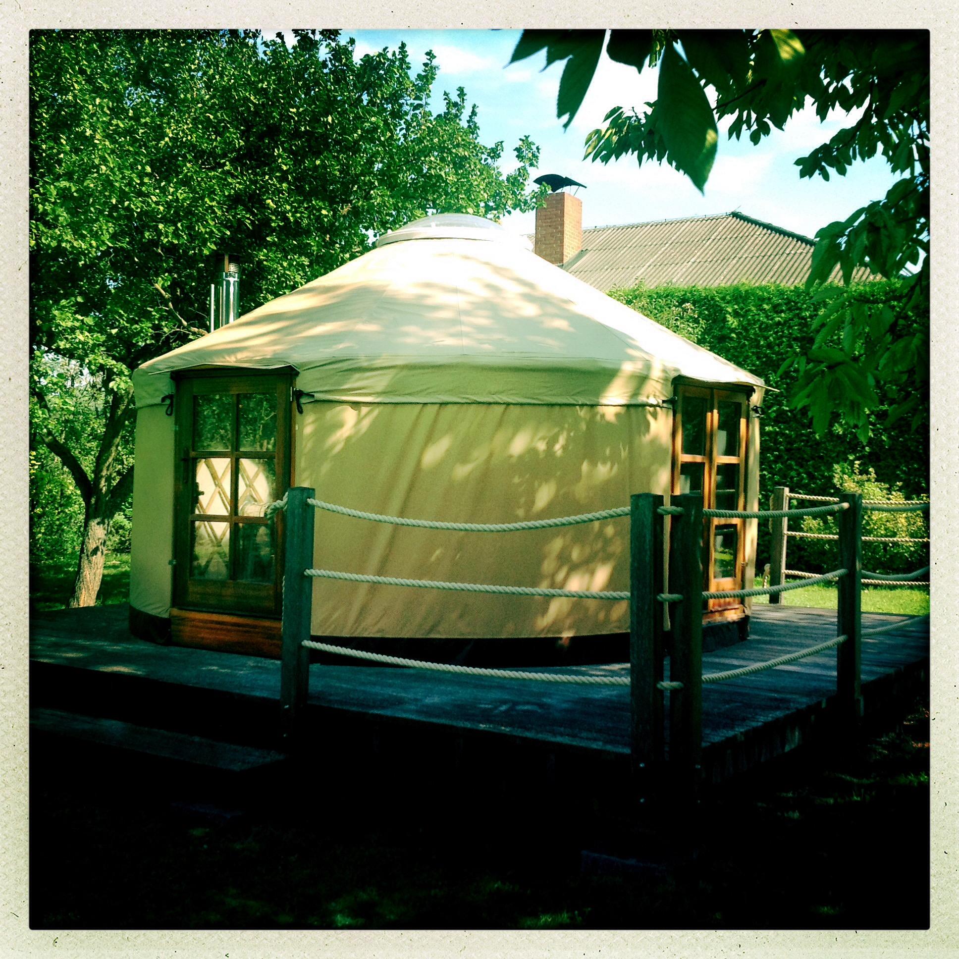 4,5 meter yurt